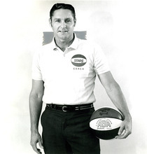 Bill Sharman coached the Utah Stars to an ABA championship in 1971.  Tribune archives