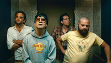 In this publicity image released by Warner Bros., from left, from left, Bradley Cooper, Ken Jeong, Ed Helms and Zach Galifianakis are shown in a scene from