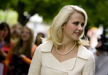 Djamila Grossman  |  The Salt Lake Tribune Elizabeth Smart leaves court after her kidnapper, Brian David Mitchell, received a life sentence Wednesday, May 25, 2011. Mitchell, convicted of the 2002 kidnap and rape of then-14-year-old Elizabeth Smart, was transferred out of the Salt Lake County jail on Wednesday.