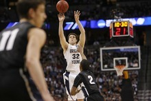 Trent Nelson  |  Salt Lake Tribune file photo Jimmer Fredette has his issues as an NBA prospect, but they shouldn't prevent the Jazz from taking him in the draft with the 12th pick, if he's still available.