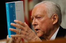 Tribune File Photo Sen. Orrin Hatch