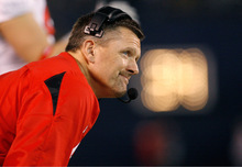 Scott Sommerdorf  |  file photo The Salt Lake Tribune Utah coach Kyle Whittingham will face the Colorado Buffaloes as end-of-season rivals, instead of BYU.