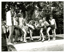 Boys play at the Liberty Park pool in this undated photo. Tribune file photo