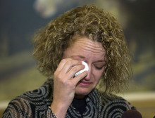 Al Hartmann     The Salt Lake Tribune Rep. Jackie Biskupski, D-Salt Lake City, Utah's first openly gay legislator, resigned Monday, June 13, from the Utah House of Representatives after serving for 12 years.  She said that due to unforeseen circumstances she must move outside her district.