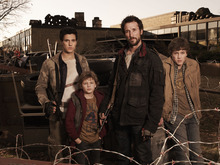 Drew Roy, Maxim Knight, Noah Wyle and Connor Jessup star in the new TNT series