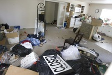 Paul Fraughton  |  The Salt Lake Tribune. The Callejas family's now-empty basement apartment in a Draper house left behind from a family  deported to El Salvador on Monday,  June 13, 2011