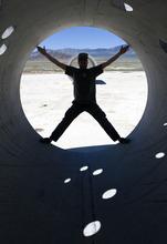 Al Hartmann  |  The Salt Lake Tribune Mathu Gaia does an imitation of the