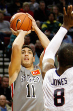 Enes Kanter of Turkey is a top European prospect for Thursday's NBA Draft. (AP Photo/Rick Bowmer, File)