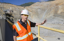 File photo  |  The Salt Lake Tribune Kennecott President and CEO Kelly Sanders describes the plan to expand the Bingham Canyon mine, extending its life to 2034.  The proposal, dubbed