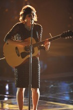Lewis Jacobs  |  NBC Utahn Dia Frampton was a close second in Wednesday's finale of