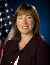 Portrait, Lori B. Garver, Deputy Administrator, National Aeronautics and Space Administration (NASA). Washington, DC, August 5, 2009.  Photo Credit: (NASA/Bill Ingalls)
