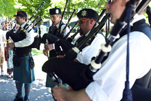 Chris Detrick | The Salt Lake Tribune  Members of the Utah Pipe Band, of Sandy, practice during the Payson Scottish Festival and Highland Games on Saturday. The festival celebrates Scottish heritage and traditions.