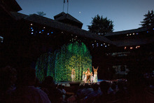 Rick Egan  |  The Salt Lake Tribune  Actors perform A Midsummer Night's Dream at the Adams Theater in Cedar City during the Utah Shakespearean Festival on Thursday, July 7, 2011.