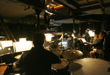 Rick Egan   |  The Salt Lake Tribune  Alan Patrick Kenny directs the musicians in the orchestra pit for the Utah Shakespeare production of