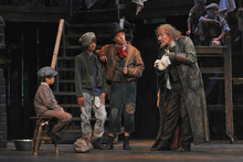 Photo courtesy of Karen Almond Michael Ballam as Fagin in Utah Festival Opera and Musical Theatre's production of