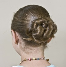 Paul Fraughton  |  The Salt Lake Tribune A hairstyle by Mindy McKnight.