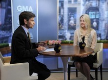 ABC News contributor Elizabeth Smart, appears on
