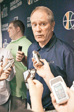 Steve Griffin  |  Tribune file photo Part of the reason Jazz general manager Kevin O'Connor traded Deron Williams last season was to increase the organization's flexibility heading into a volatile and uncertain labor situation, and flexibility, say some observers, will serve the small-market team well when the NBA lockout is over.