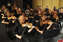 Student musicians perform as part of the Lyceum Music Festival. Courtesy Photo