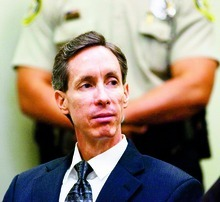 Trent Nelson | The Salt Lake Tribune Warren Jeffs, leader of the FLDS Church, in the 5th District Court for a preliminary hearing in November 2006.