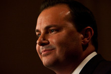 Chris Detrick  |  Tribune file photo  Sen. Mike Lee, R-Utah, acknowledges that the best shot at passing a balanced budget amendment has slipped away with passage of the debt-ceiling hike deal. But he plans on continuing to work on his No. 1 priority in Congress.
