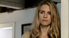 Brit Marling plays Rhoda, a young woman dealing with a past mistake as news spreads of a planet identical to ours in