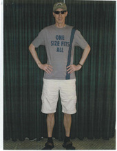 Courtesy photo  Warren Jeffs wears a disguise while he was on the run from law enforcement.