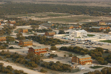 Aerial views of the FLDS compound YFZ