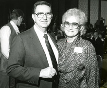 Marion D. Hanks and Maxine Hanks Tribune File Photo