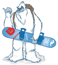 Image courtesy of Ski Utah Ski Utah's popular mascot Yeti, created originally for the marketing organization's online promotions, now is being used to push a new pass designed to increase exposure to all 14 of the state's active ski resorts.