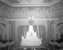 Historic image of the Pantages Theatre, later known as the Utah Theatre,  interior in Salt Lake City. Credit: Used by permisson, Utah State Historical Society All rights reserved