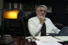 Francisco Kjolseth  |  The Salt Lake Tribune Hilder retired from his judgeship last week after more than 15 years talks about one of the biggest reasons why he left the bench on Thursday, August 4, 2011.