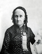 Kimball Martha McBride Knight Smith one of Joseph Smith's plural wives. Courtesy of the International Society of the Daughters of Utah Pioneers.
