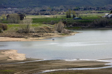 Al Hartmann  |  The Salt Lake Tribune Pineview Reservoir, pictured on May 11, 2011.