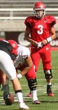 Leah Hogsten  |  The Salt Lake Tribune University of Utah football team quarterback Jordan Wynn. The University of Utah football team scrimmages Saturday, August 20 2011 in Salt Lake City.