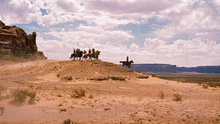 A scene from John Ford's classic Western