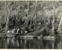 Salt Lake Tribune file photo  A group of people gather Memory Grove in this photo dated April 17, 1938.