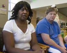 Al Hartmann  |  The Salt Lake Tribune Dianna and Travis Palmer wait in the Intermountain Medical Center in Murray Friday, Sept. 2, 2011, as their son Ross has an implantable cardiac defribulator installed.  The Idaho football player  was saved by the quick action of his football team coaches after he collapsed and his heart stopped Tuesday night at the end of practice.  They started CPR followed by use of an Automated External Defibrillator,  (AED) restarting his heart.  Palmers parents are convinced the coaches using the AED saved their son's life and think every school's sports team should have one on site.