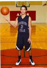 Courtesy photo | Carol Palmer  Ross Palmer's high school basketball photo