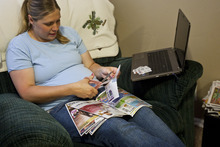 Chris Detrick   The Salt Lake Tribune  Magna's Coralie Seright has tried to cut back in areas she can control. She clips coupons, and her family tries not to eat out much, while carefully monitoring spending. She even created her own blog, Utahcoupondeals.com, which is devoted to saving money.
