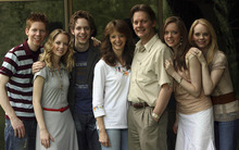 The Brown family, in 2006, are shown left to right:  Ryan, Desirae, Gregory, Lisa (mother), Keith (father), Melody and Deondra. A newly released police report shows the extent of child sexual abuse perpetrated against the three women of the piano group The 5 Browns went far beyond the three counts their father went to prison for.   Ryan Galbraith photo