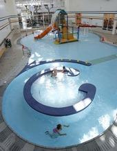 Trent Nelson  |  The Salt Lake Tribune The pool at the Gene Fullmer Recreation Center in West Jordan.