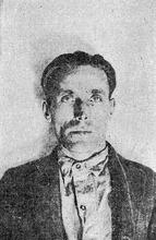 Salt Lake Tribune library Mugshot of Joe Hill, who was executed in 1915 in Utah.