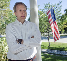 Al Hartmann  |  The Salt Lake Tribune Ron Nielson is running former New Mexico Gov. Gary Johnson's  presidential campaign from headquarters in Salt Lake City.   Johnson has struggled to break into the main GOP candidate field.