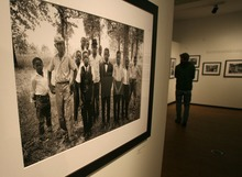 Steve Griffin  |  The Salt Lake Tribune   The new Leonardo museum , fashioned out of the old Salt Lake City Library, opened to the public on Saturday  October 8, 2011 in Salt Lake City Utah. One exhibit is the