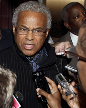 Billy Hunter, executive director of the NBA players union, talks with reporters, Monday Oct. 10, 2011, in New York. NBA Commissioner David Stern canceled the first two weeks of the basketball season after players and owners were unable to reach a new labor deal to end the lockout. Opening night was scheduled for Nov. 1. (AP Photo/David Karp)