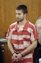 Martin C.Bond,  charged with aggravated murder of BYU professor Kay Mortensen, appears in court  in American Fork, Utah, Tuesday, Dec. 21, 2010.  (Jeffrey D. Allred, Deseret News)
