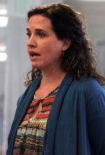 Rick Egan  | The Salt Lake Tribune  Salt Lake City resident Cori Redstone urges the Library Board on Thursday to consider removing embattled Library Director Beth Elder.