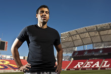 Chris Detrick  |  The Salt Lake Tribune Real Salt Lake's Javier Morales, who sat out most of the season with an ankle injury, is close to peak form as the Major League Soccer playoffs approach.