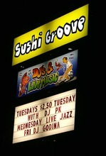 Leah Hogsten | The Salt Lake Tribune DJ PK plays new funk and old school soul Tuesday evenings at Sushi Groove, 2910 S. Highland Drive in Salt Lake City.